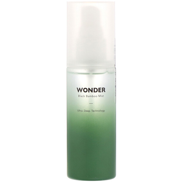 Wonder, Mist de Bambu-Preto, 80 ml (2,7 fl oz)