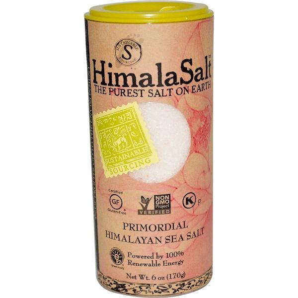 HimalaSalt, Primordial Himalayan Sea Salt, 6 oz (170 g)