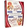 HealthSmart Foods, Inc., ШокоРайт Протеиновые батончики, Булочка с корицей, 12 батончиков, 2.26 унции (64 г) каждый