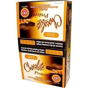 Хэлссмарт фудс, Chocolite Protein Bar, Peanut Butter, 16 Bars, 1.20 oz (34 g) Each отзывы