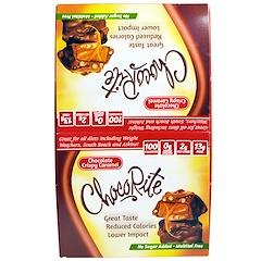 HealthSmart Foods, チョコライト、 チョコレートクリスピーキャラメル、 16個、 1.13 oz (32 g)