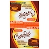 HealthSmart Foods, Inc., ChocoRite, Peanut Butter Cup Patties, 16 Count, 1.27 oz (36 g) Each