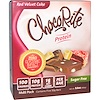 HealthSmart Foods, Inc., Батончики ЧокоРайт,  красный бархатный торт, 5 батончиков, по 5,6 унции (32 г) каждый
