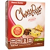 HealthSmart Foods, Inc., ChocoRite Protein, Peanut Butter, Sugar Free, 5 Bars, 32 g Each