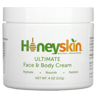 Honeyskin, Ultimate Face & Body Cream, 4 oz (113 g)