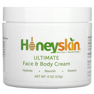 Honeyskin, Ultimate Face & Body Cream, 4 oz (113 g)'