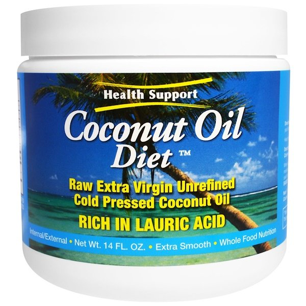 Health Support, Coconut Oil Diet, 14 fl oz (Discontinued Item)
