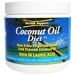 Хэлс Саппорт, Coconut Oil Diet, 14 fl oz отзывы