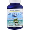 Health Support, Coconut Oil Diet, 180 Softgel