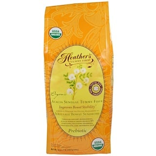 Heather's Tummy Care, Fibras Orgânicas de Acacia Senegal para o Abdômen, 453 g (16 oz)