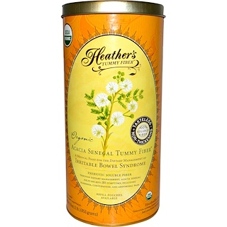 Heather's Tummy Care, Tummy Fibers, Organic  Acacia Senegal Tummy Fiber, 16 oz (453 g)
