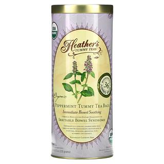 Heather's Tummy Care, Tummy Teas, Organic Peppermint Tea Bags, Caffeine Free, 36 Tea Bags, 4.2 oz (120 g)