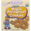 Healthy Times, オーガニック、オーガニック・クズウコン・クッキー、メイプル、、5 oz (140 g)
