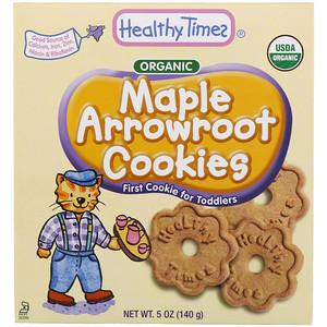 Хэлси Таймс, Organic, Arrowroot Cookies, Maple, 5 oz (140 g) отзывы