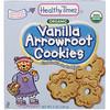 Healthy Times, オーガニック、クズウコン・クッキー、バニラ、5 oz (140 g)