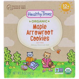 Healthy Times, オーガニック、クズウコンクッキー、メープル、12ヶ月以上、5 oz (142 g)