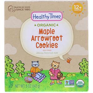 Хэлси Таймс, Organic, Arrowroot Cookies, Maple, 12+ Months, 5 oz (142 g) отзывы покупателей