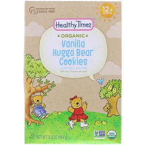 Хэлси Таймс, Organic, Hugga Bear Cookies, Vanilla, 12+ Months, 6.5 oz (184 g) отзывы