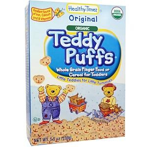 Хэлси Таймс, Organic Teddy Puffs, Original, 5.5 oz (156 g) отзывы