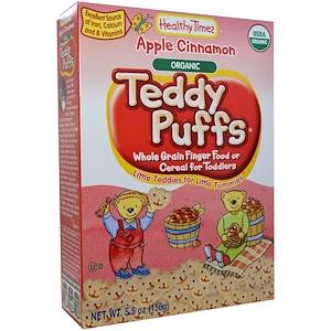 Хэлси Таймс, Organic Teddy Puffs, Apple Cinnamon, 5.5 oz (156 g) отзывы