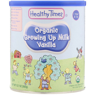 Healthy Times, Organic Growing Up Milk, Vanilla, 1 Year & Up, 12.7 oz (360 g)