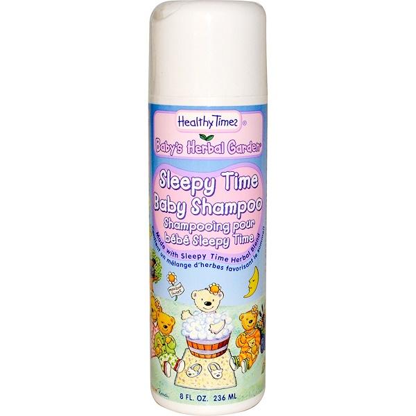 Healthy Times, Baby's Herbal Garden, детский шампунь Sleepy Time, 8 жидких унций (236 мл) (Discontinued Item)