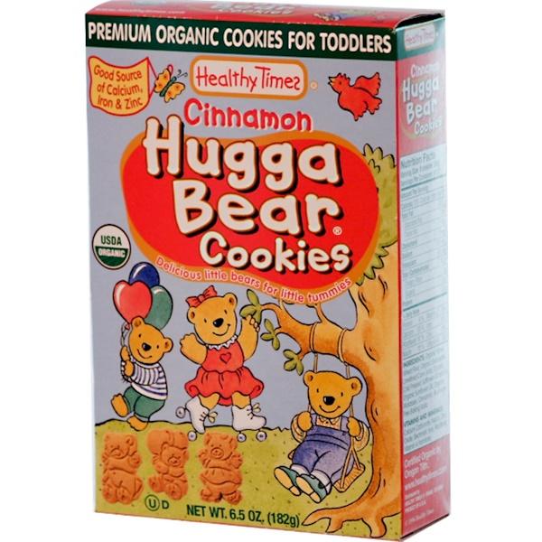 Healthy Times, Hugga Bear Cookies, Cinnamon, 6.5 oz (182 g) (Discontinued Item)