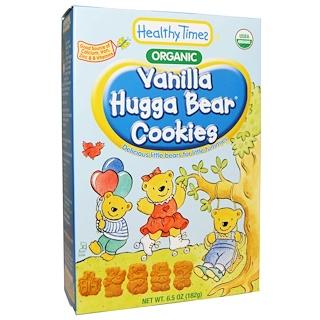 Healthy Times, Organic, Hugga Bear Cookies, Vanilla, 6.5 oz (182 g)