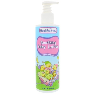 Healthy Times, Soothing Baby Lotion, Hypoallergenic, 8 fl oz (236 ml)