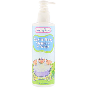 Хэлси Таймс, Gentle Baby, Shampoo & Wash, Tear Free, 8 fl oz (236 ml) отзывы