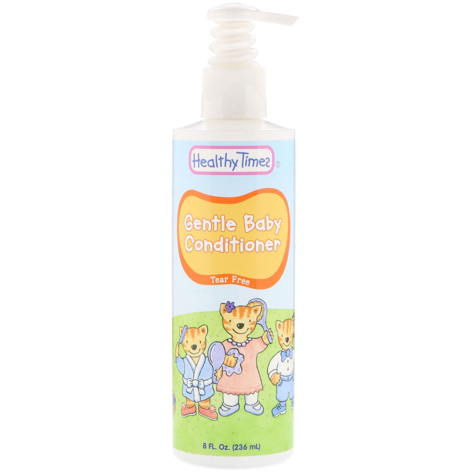 Healthy Times Gentle Baby Conditioner Tear Free 8 Fl Oz 236 Ml Pure Wash 2in1 Freshy 230ml