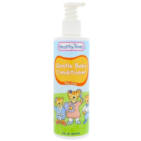 Healthy Times, Gentle Baby,嬰兒護髮素,無淚配方,8 液體盎司(236 毫升)