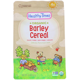 Healthy Times, Organic, Barley Cereal, 4+ Months, 5 oz (142 g)