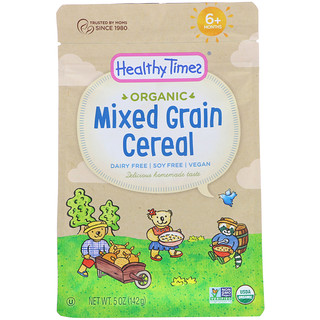 Healthy Times, Organic, Mixed Grain Cereal, 6+ Months, 5 oz (142 g)
