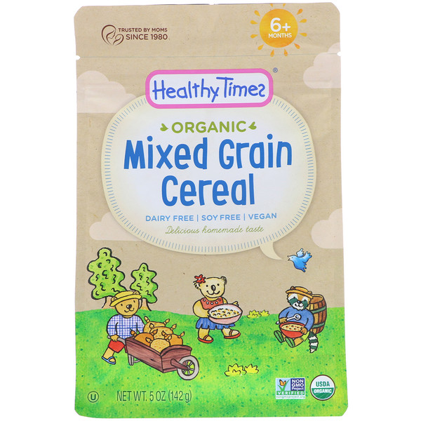 Organic, Mixed Grain Cereal, 6+ Months, 5 oz (142 g)
