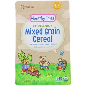 Хэлси Таймс, Organic, Mixed Grain Cereal, 6+ Months, 5 oz (142 g) отзывы