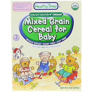 Healthy Times, Mixed Grain Cereal for Baby, 8 oz (227 g)