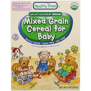 Хэлси Таймс, Organic, Mixed Grain Cereal for Baby, 8 oz (227 g) отзывы