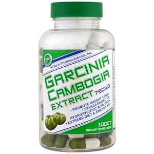 Хай тек Фармасьютикалс, Garcinia Cambogia Extract, 750 mg, 100 Capsules отзывы