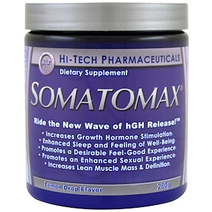 Хай тек Фармасьютикалс, Somotomax, hGH Release, Lemon Drop Flavor, 280 g отзывы