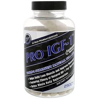 Hi Tech Pharmaceuticals, Pro IGF-1, 250 Tablets
