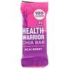 Health Warrior, Inc., Батончики с чиа, ягоды асаи, 15 баточников, 0,88 унц. (25 г) каждый