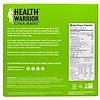 Health Warrior, Inc., Superfood Chia Bars, Coconut, 5 Bars, 0.88 oz (25 g)