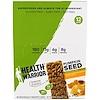 Health Warrior, Inc., Батончик-суперпродукт из тыквенного семени, мед, молотый перец и куркума, 12 батончиков, по 35 г (1,23 унции) каждый