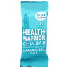 Health Warrior, Inc., Chia Bars, Caramel Sea Salt, 15 Bars, 0.88 oz (25 g)