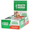Health Warrior, Inc., Тыквенные семечки, темный шоколад, арахис, 12 батончиков, 14,8 унц. (420 г)