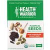 Health Warrior, Inc., Pumpkin Seeds, Dark Chocolate Peanut, 12 Bars, 14.8 oz (420 g)