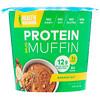 Health Warrior, Inc., Muffin de Caneca Rico em Proteína, Banana com Castanhas, 2,01 oz (57 g)