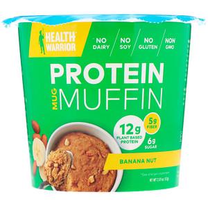 Хэлс Вариор, Protein Mug Muffin, Banana Nut, 2.01 oz (57 g) отзывы