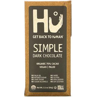 Hu, Simple Dark Chocolate, 2.1 oz (60 g)